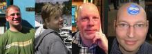 Photo of Moshe, Melissa, Mike & Chx