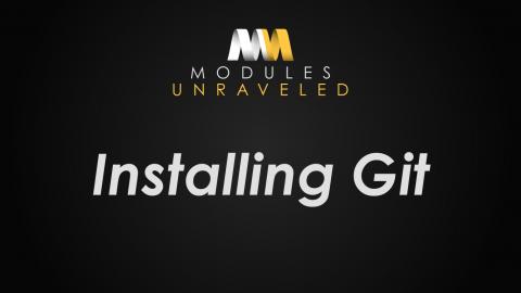 Installing Git