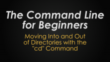 The command line for beginners image