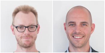 Photo of Thomas Fini Hansen and Thomas Gielfeldt