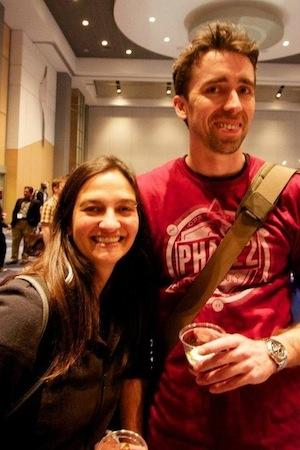 Photo of Jake Strawn and Michelle Lauer