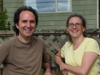 Photo of Nedjo Rogers and Rosemary Mann